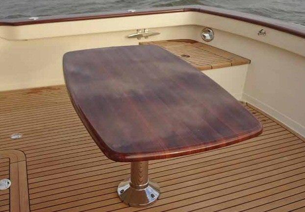 Vogue marine accueil tapis de bateau teck synthetique table pour bateau asp - Pied de table bateau ...